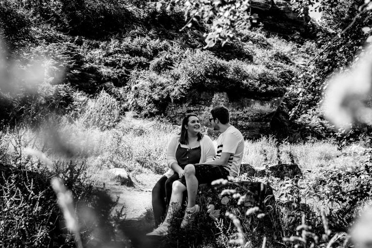 Brimham Rocks Engagement shoot, pre wedding photography, yorkshire photographer, West Yorkshire Wedding Photographer, Bradford Wedding photography. Candid Photography