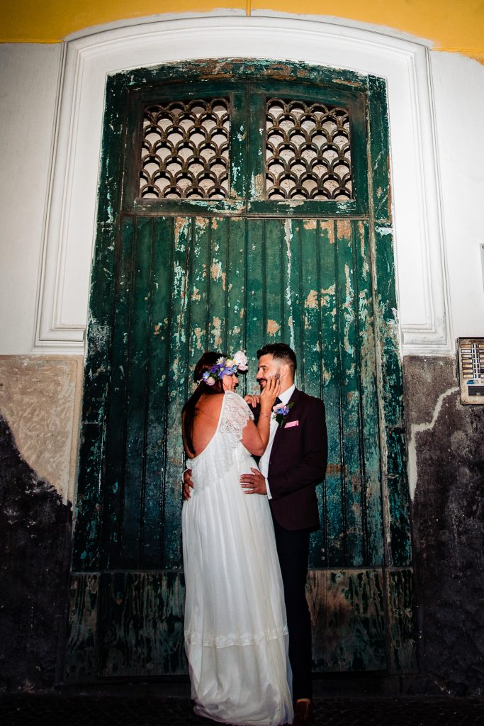 Italy destination wedding in Sorrento on the Amalfi coast